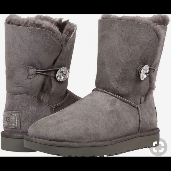 4c70bb4dbfb Bailey Bling Uggs with Swarovski crystals